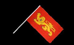 Stockflagge Frankreich Aquitaine - 60 x 90 cm