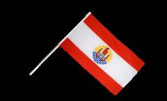 Stockflagge Frankreich Französisch Polynesien - 60 x 90 cm