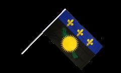 Stockflagge Frankreich Guadeloupe - 60 x 90 cm