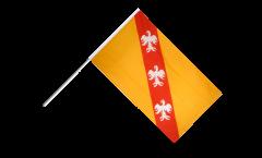 Stockflagge Frankreich Lothringen - 60 x 90 cm