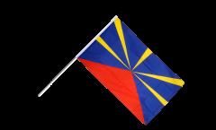 Stockflagge Frankreich Reunion - 60 x 90 cm