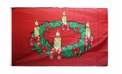 Flagge Adventskranz