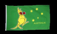 Flagge Australien Känguruh