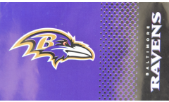 Flagge NFL Baltimore Ravens Fan - 90 x 150 cm