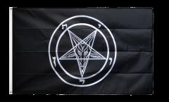Flagge Baphomet Church of Satan - 90 x 150 cm