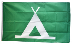 Flagge Camping - 90 x 150 cm
