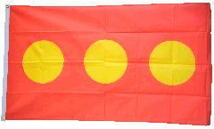 Flagge Dänemark Freistadt Christiania - 90 x 150 cm