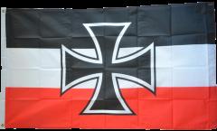 Flagge Deutsches Reich Gösch-Naval Jack 1871-1919