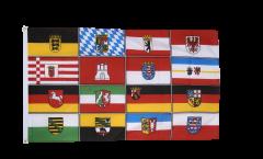 Flagge Deutschland 16 Bundesländer