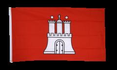 Flagge Deutschland Hamburg