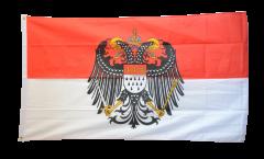 Flagge Deutschland Stadt Köln mit großem Wappen