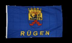 Flagge Deutschland Stadt Rügen - 90 x 150 cm