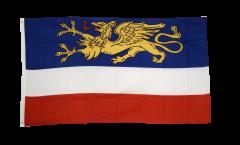 Flagge Deutschland Stadt Rostock
