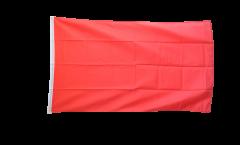 Flagge Einfarbig Rot