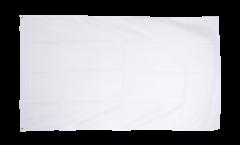 Flagge Einfarbig Weiß