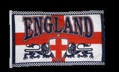 Flagge England 2 Löwen - 90 x 150 cm