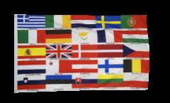 Flagge Europäische Union EU 25 Staaten