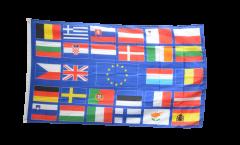 Flagge Europäische Union EU mit 28 Länder