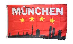 Flagge Fanflagge Bayern 4 Sterne München