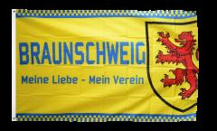 Flagge Fanflagge Braunschweig - Meine Liebe