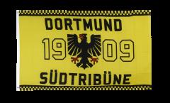 Flagge Fanflagge Dortmund 1909 Adler Südtribüne
