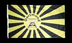Flagge Fanflagge Dortmund Förderturm