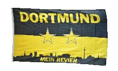 Flagge Fanflagge Dortmund Mein Revier Sterne