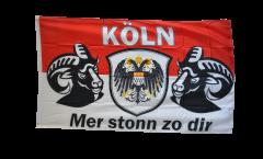 Flagge Fanflagge Köln Mer stonn zu dir