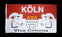 Flagge Fanflagge Köln Viva Colonia