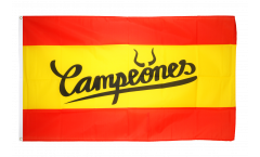 Flagge Fanflagge Spanien Campeones - 90 x 150 cm