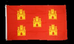 Flagge Frankreich Poitou Charentes