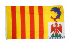 Flagge Frankreich Provence Alpes Côte d'Azur