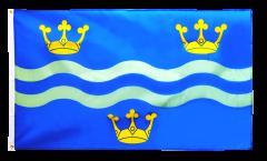Flagge Großbritannien Cambridgeshire neu