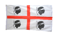 Flagge Italien Sardinien - 90 x 150 cm