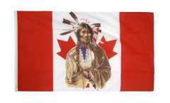 Flagge Kanada Indianer - 90 x 150 cm