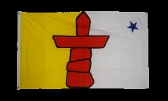 Flagge Kanada Nunavut - 90 x 150 cm