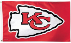 Flagge NFL Kansas City Chiefs - 90 x 150 cm
