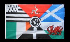 Flagge Keltische Nationen Pankeltisch