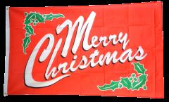 Flagge Merry Christmas
