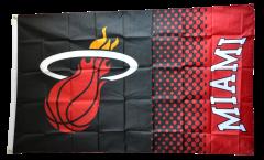 Flagge NBA Miami Heat - 90 x 150 cm