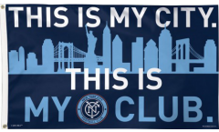 Flagge New York City FC