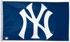 Flagge MLB New York Yankees Logo - 90 x 150 cm
