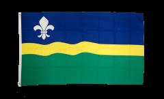 Flagge Niederlande Flevoland - 90 x 150 cm