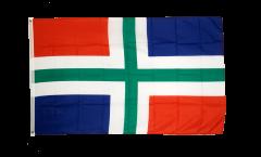 Flagge Niederlande Groningen - 90 x 150 cm