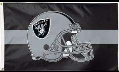 Flagge NFL Oakland Raiders Helmet - 90 x 150 cm
