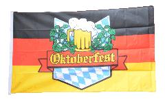 Flagge Oktoberfest Deutschland