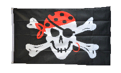 Flagge Pirat one eyed Jack