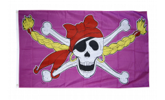 Flagge Pirat Pirate Princess Prinzessin