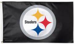 Flagge NFL Pittsburgh Steelers - 90 x 150 cm
