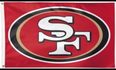 Flagge NFL San Francisco 49ers - 90 x 150 cm